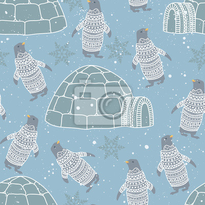 Pattern animals bird bear while texture background  brush art instagram  modern  social media