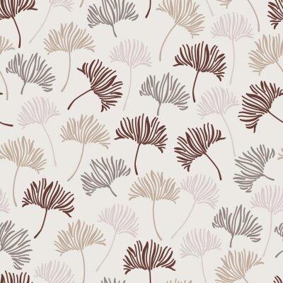 Pattern leaf plant geometric vintage
