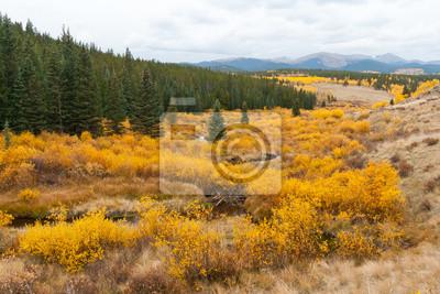 Pejzaż górski spadek Colorado