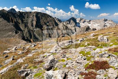 Pejzaż górski w Górach Skalistych w Kolorado