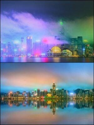 Pejzaż z dzielnicy finansowej, Hong Kong