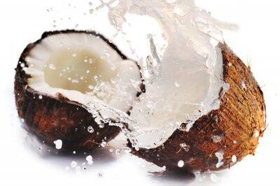 Obraz pęknięty kokosowy z powitalny