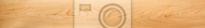 Obraz Perfect, very long & wide, wood panorama for banners, design and headers - in beautiful patterns of natural wooden grain.