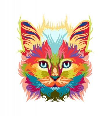 Obraz persian cat vector