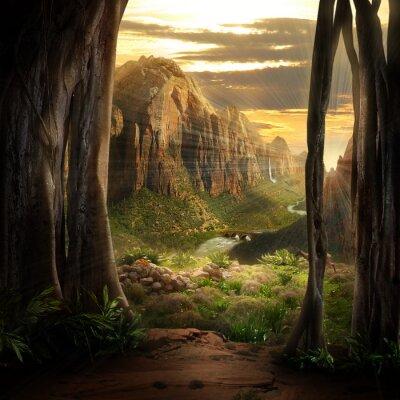 Obraz Phantasy Landscape
