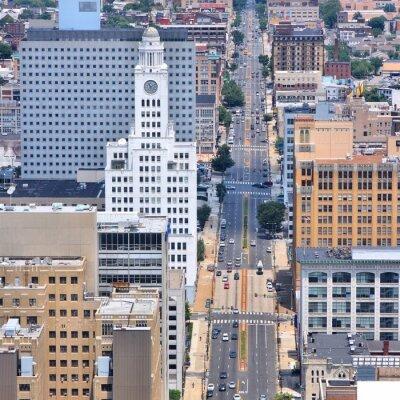 Obraz Philadelphia z lotu ptaka