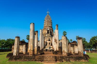 Phra Si Ratana Mahathat Chaliang temple in Sukhothai province, Thailand.