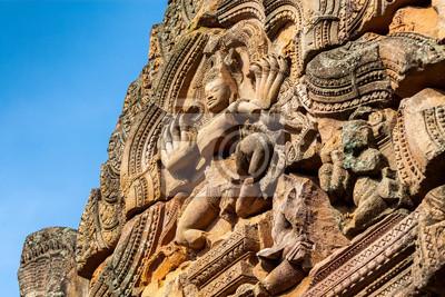 piasek, kamień, zamek, Phanomrung w Buriram