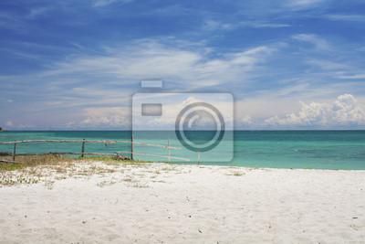 Obraz Piaszczysta plaża i morze