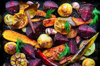 Obraz Pieczone warzywa
