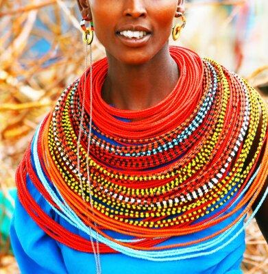 Obraz Piękna dama Afryki
