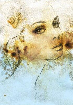 Obraz Piękna kobieta.