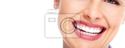 Obraz Piękna kobieta, uśmiech.