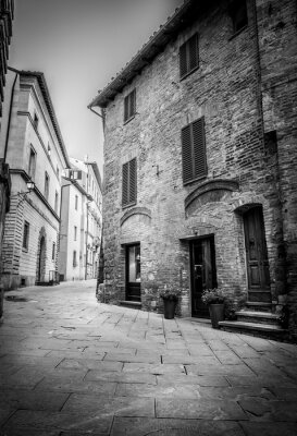 Obraz Piękna ulica Montepulciano, Toskania