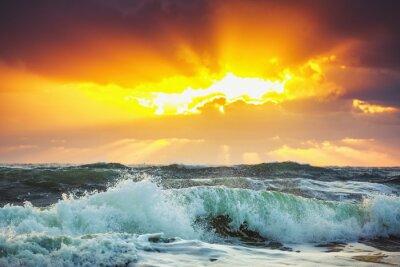 Obraz Piękne Chmura nad morzem