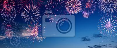 Obraz Piękne fajerwerki