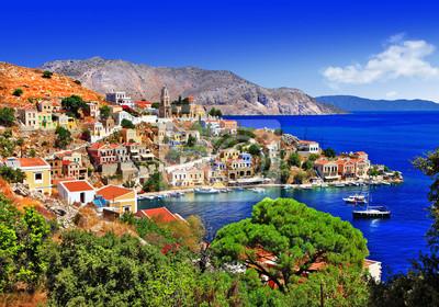 piękne greckie wyspy - Symi