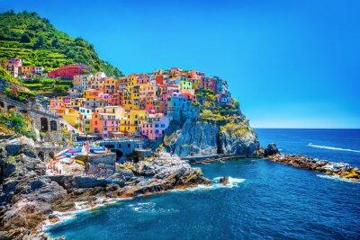 Obraz Piękne kolorowe miasta