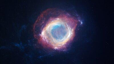 Obraz Piękne Mgławica Deep sky obiektu. Elementy tego zdjęcia dostarczone przez NASA