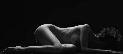 Obraz Piękne nagie ciało.