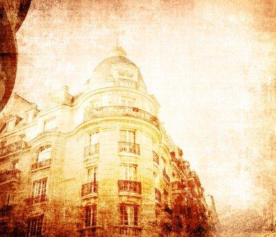 Obraz piękne uliczki paryski