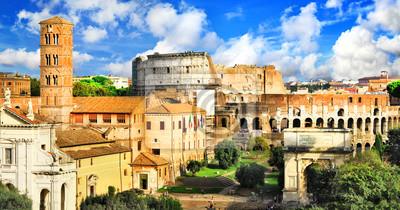 Piękny antyczny Rzym