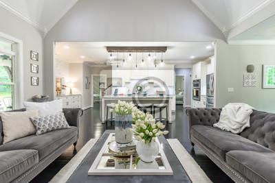 Obraz Piękny projektant domu na południu