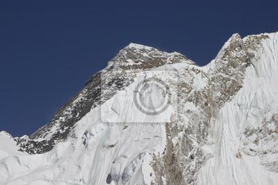 Piękny widok na góry z Everest Region, Nepal