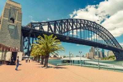 Obraz Piękny widok na Sydney Harbour Bridge