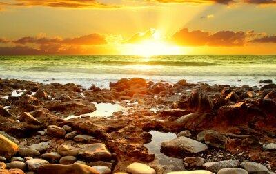 Obraz Piękny zachód słońca