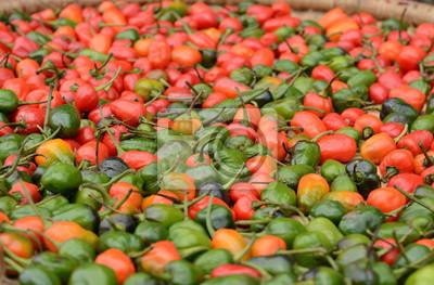 Pieprz cayenne. Papryka chili w Nepalu