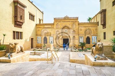 Pierzeja Muzeum Koptyjskiego, Kair, Egipt