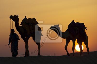 Pieszo do domu o zachodzie słońca