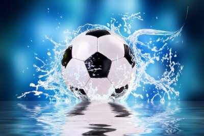 Obraz Piłka nożna powitalny