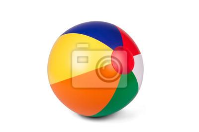 Obraz Piłka plażowa nadmuchiwana w kolorze