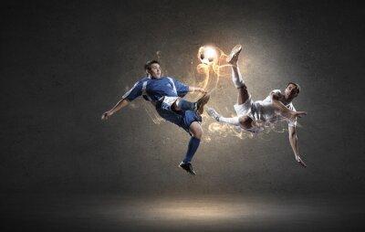 Obraz Piłkarz