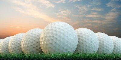 Obraz piłki golfowe