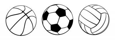 Obraz Piłki sportowe