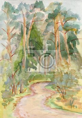 Obraz Pines