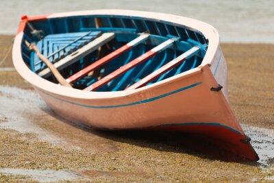 Obraz Pirogue traditionnelle, barque de l'anse Mourouk