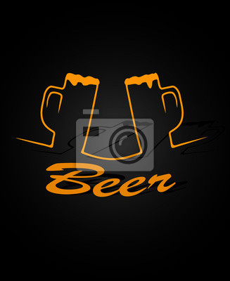 piwo w tle