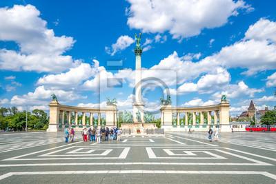 , Plac Bohaterów w Budapeszcie