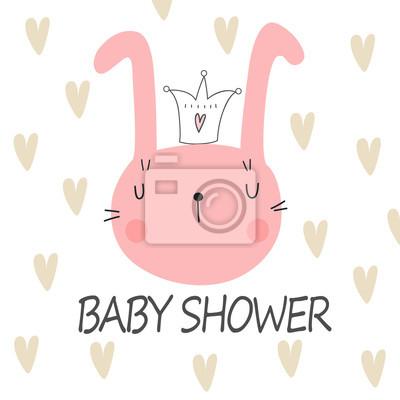 Plakat baby shower