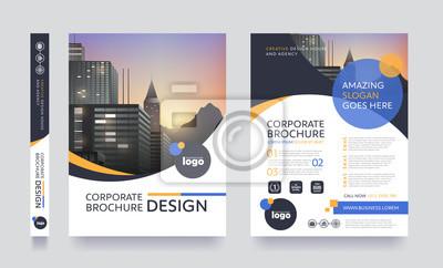 Obraz plakat okładka broszury ulotki przestrzeń broszura projektowania układu dla fotografii tła, wektor szablonu w formacie A4