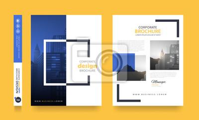 Obraz plakat ulotki broszura okładka projekt układ miejsca na tle zdjęcia, szablon wektor w formacie A4