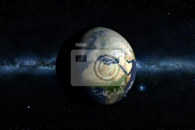 Planet Earth & Milky Way