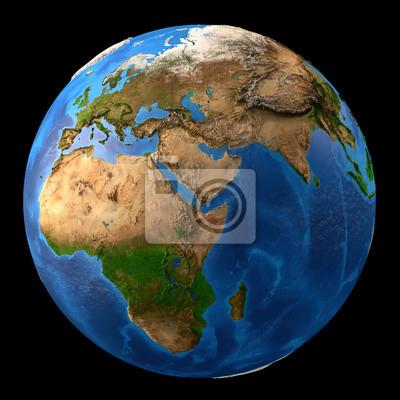 Planet Earth wysokiej rozdzielczości