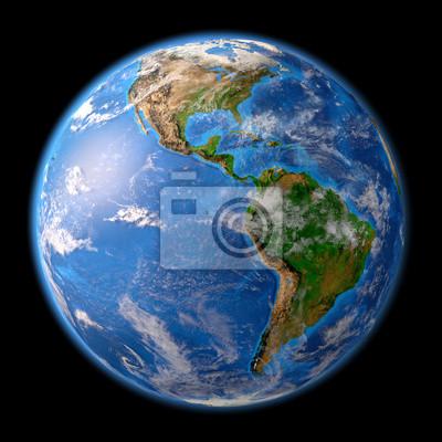 Planeta Ziemia w wysokiej rozdzielczości