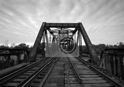 Pociąg Bridge B & W