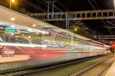 Pociąg odjechał z dworca Feldkirch - Austria
